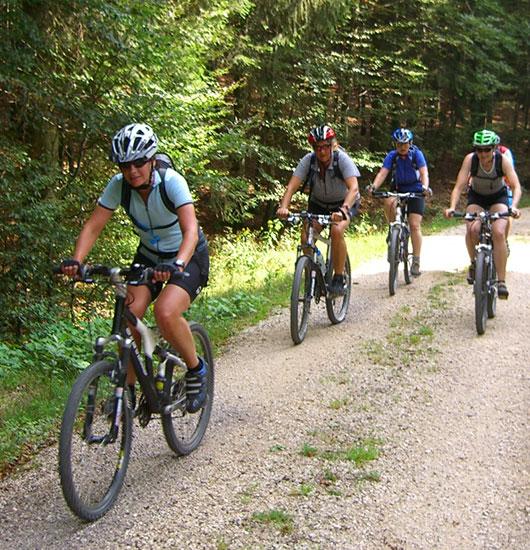 Freizeit Mountainbiken